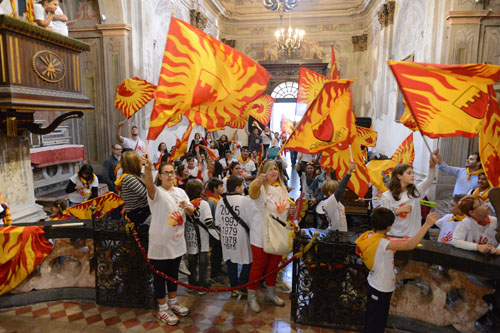 San Paolo festeggia il suo Palio con il Giro della Vittoria