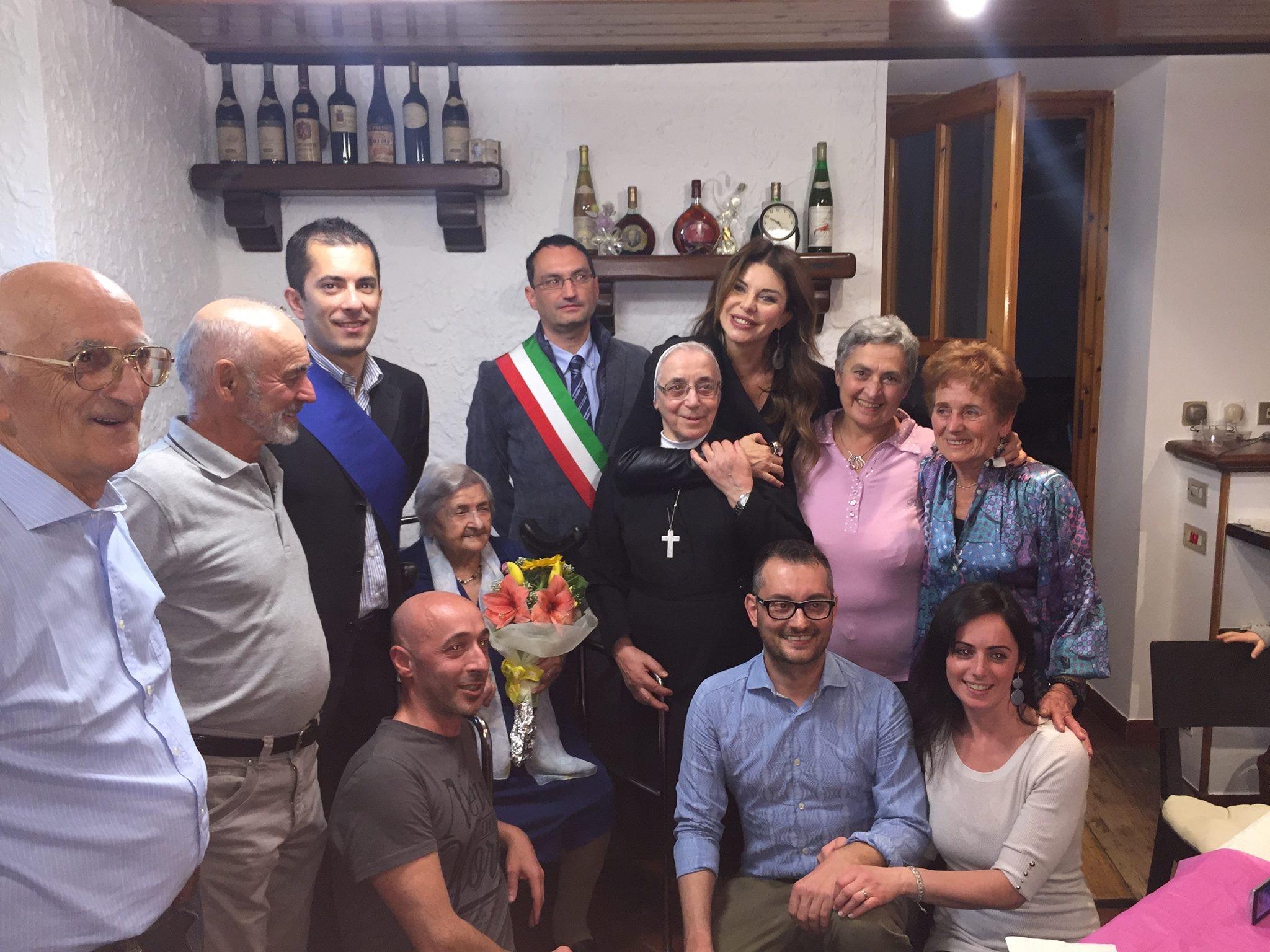 Festa grande a Moasca per la neo centenaria Giuseppina Ghione