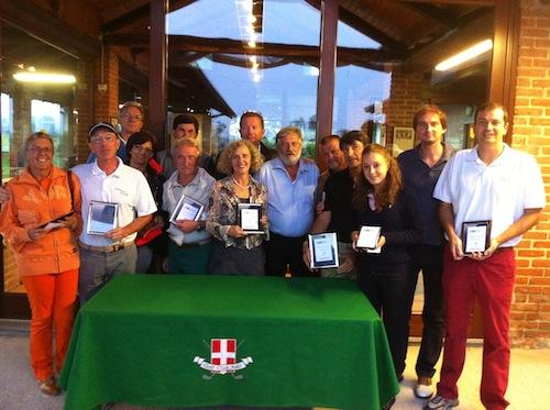 """Golf: la Coppa """"Cassa di Risparmio di Bra"""" alla coppia Porro-Bologna"""