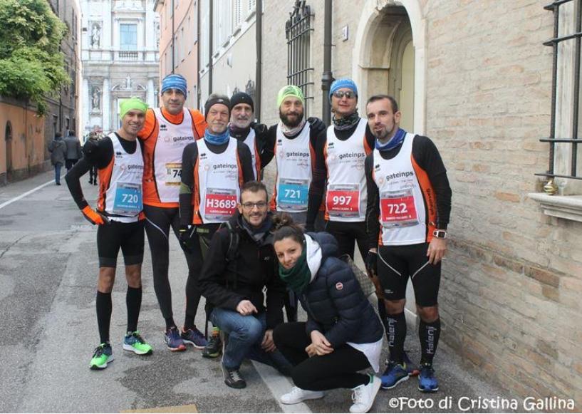 """I """"ragazzi del web"""" della Gate – Cral Inps alla maratona di Ravenna"""