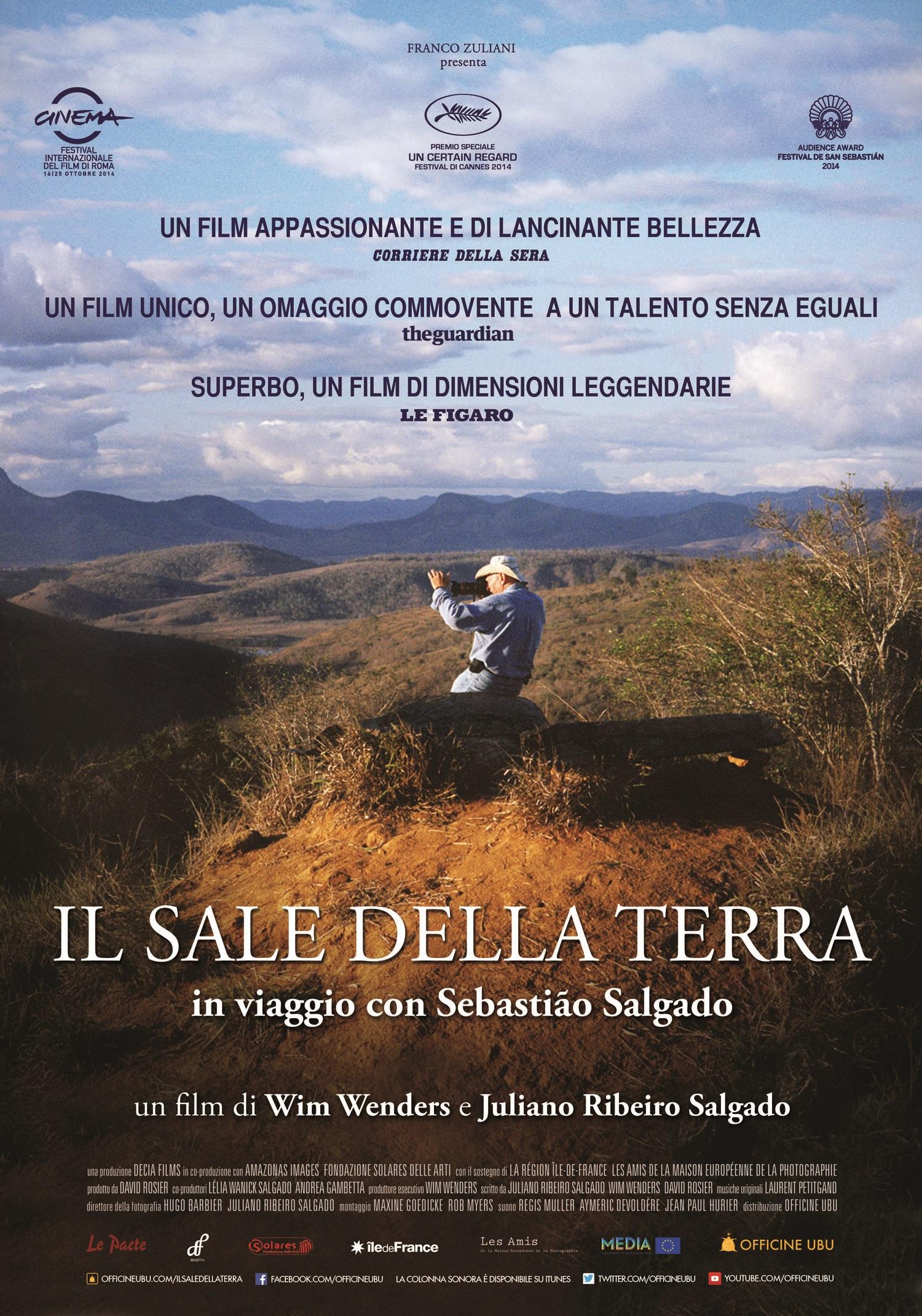 """Al cinema Splendor di Asti """"Il sale della terra"""""""