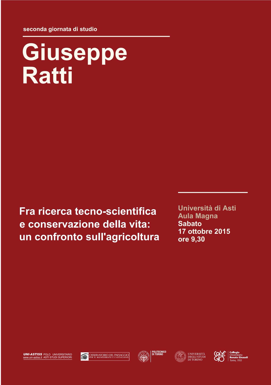 Ad Astiss convegno dedicato alla memoria di Giuseppe Ratti