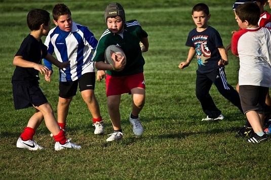 In campo il settore propaganda della Junior Asti Rugby