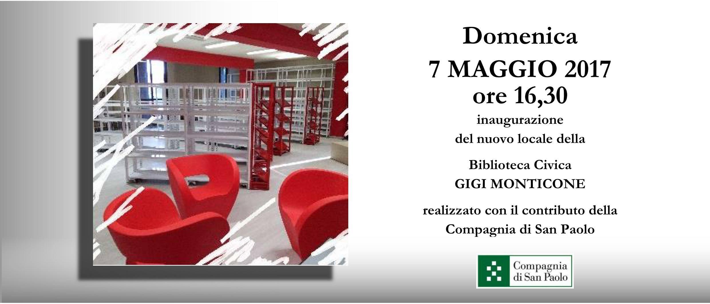 Inaugurazione nuovi locali della Biblioteca Civica Monticone di Canelli