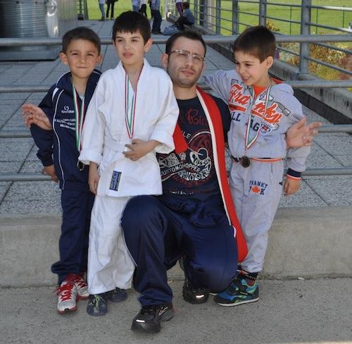 """Il Judo Montemagno al """"Trofeo delle cinque prove di un Samurai"""""""