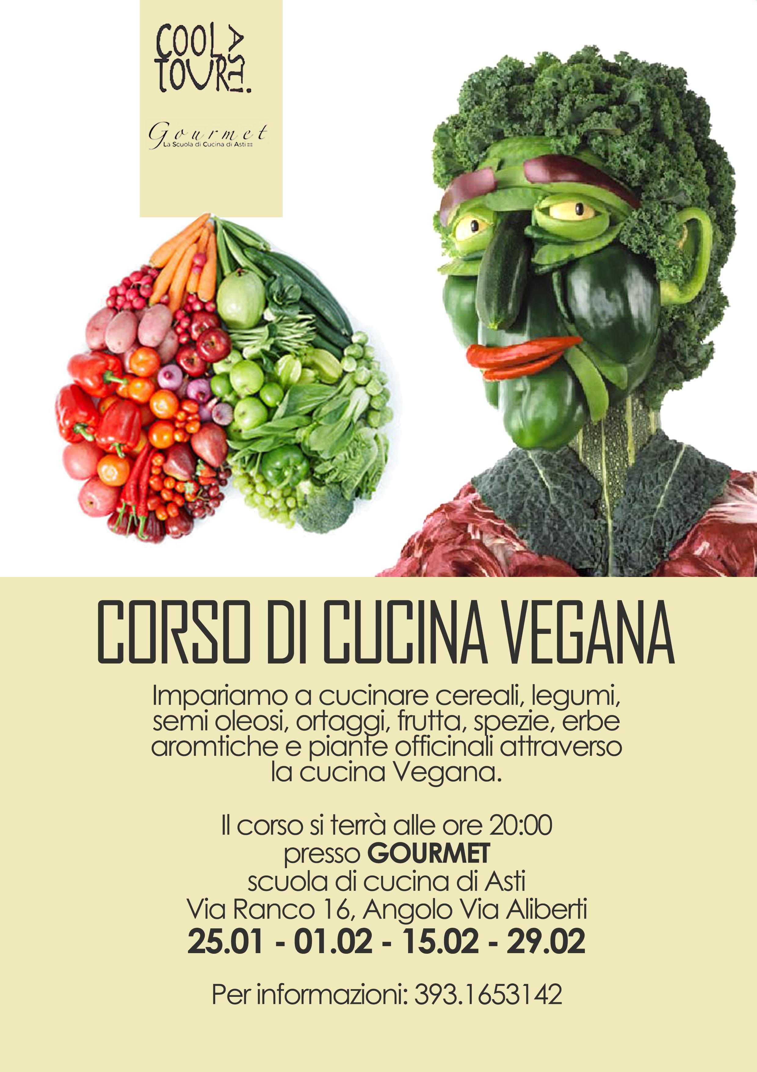 Ad Asti un corso di cucina vegana