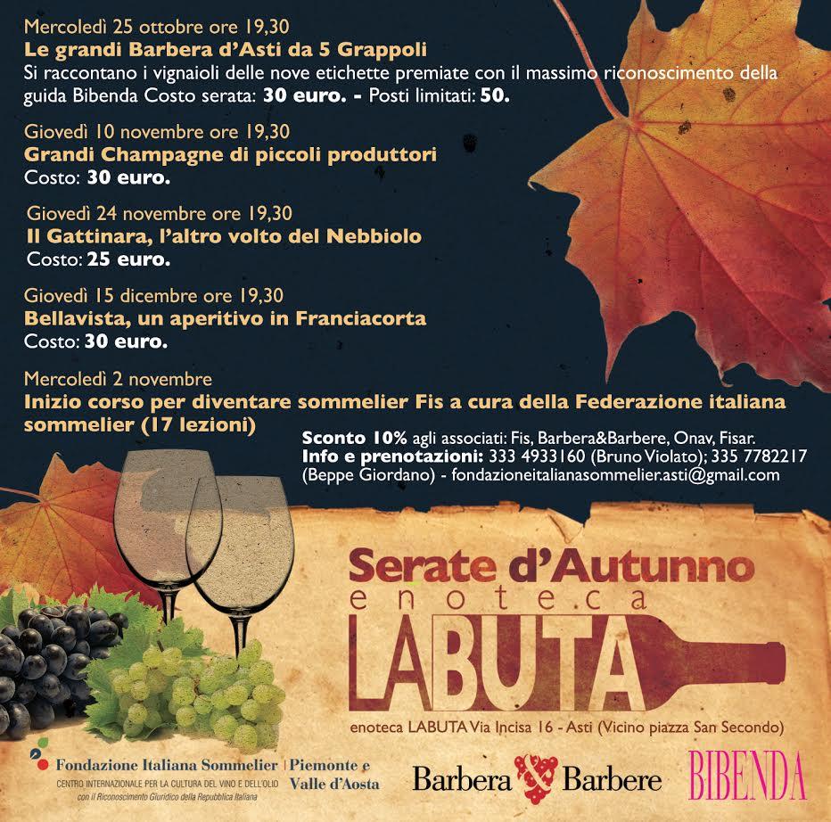 """All'enoteca """"La Buta"""" una serata dedicata ai grandi champagne di piccoli produttori"""