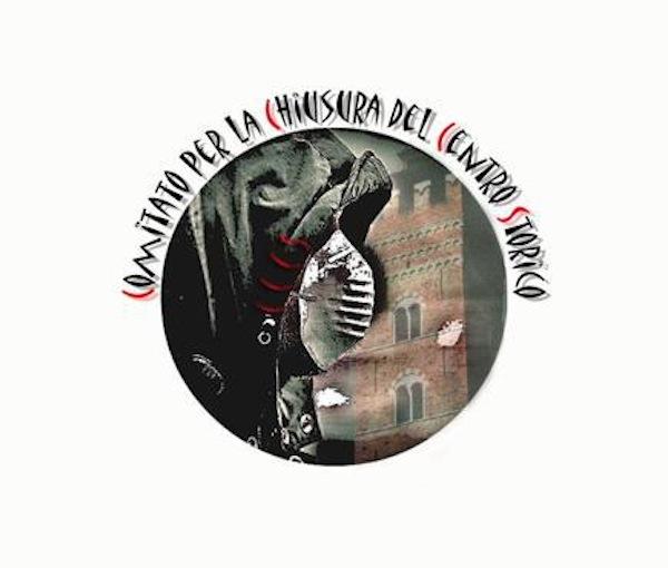 Il Comitato Chiusura Centro Storico di Asti scende in piazza e presenta il suo logo