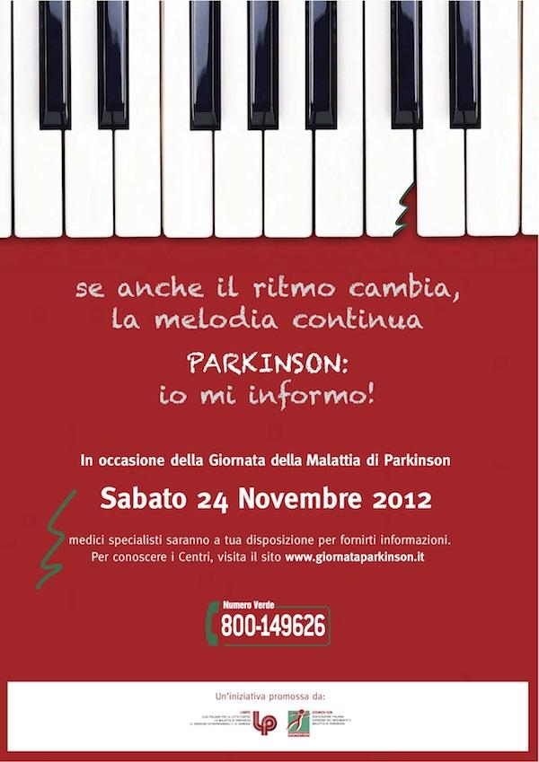 Giornata del Parkinson sabato 24 novembre al Cardinal Massaia