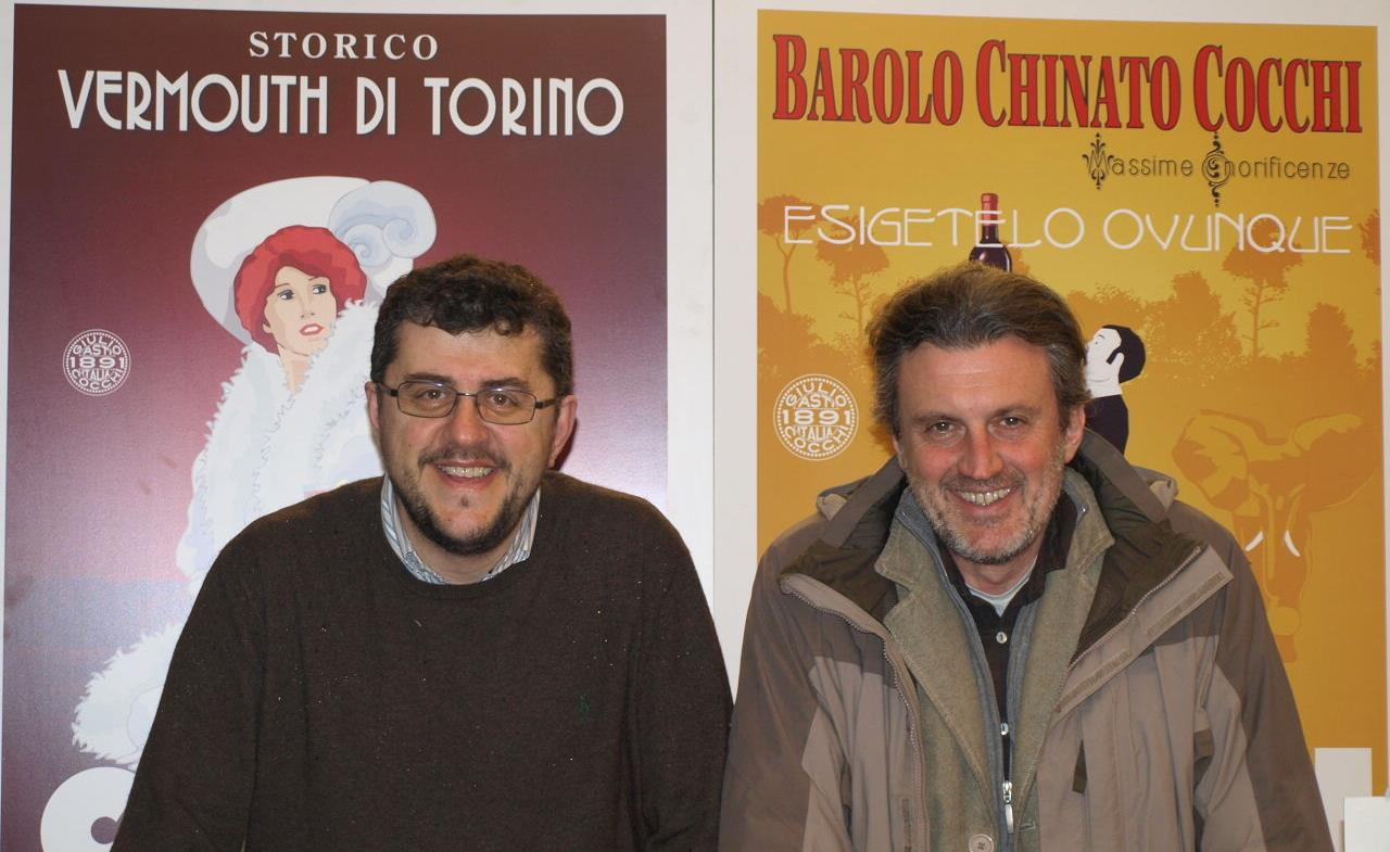 Lo scrittore Antonio Manzini dai Bava a Cocconato