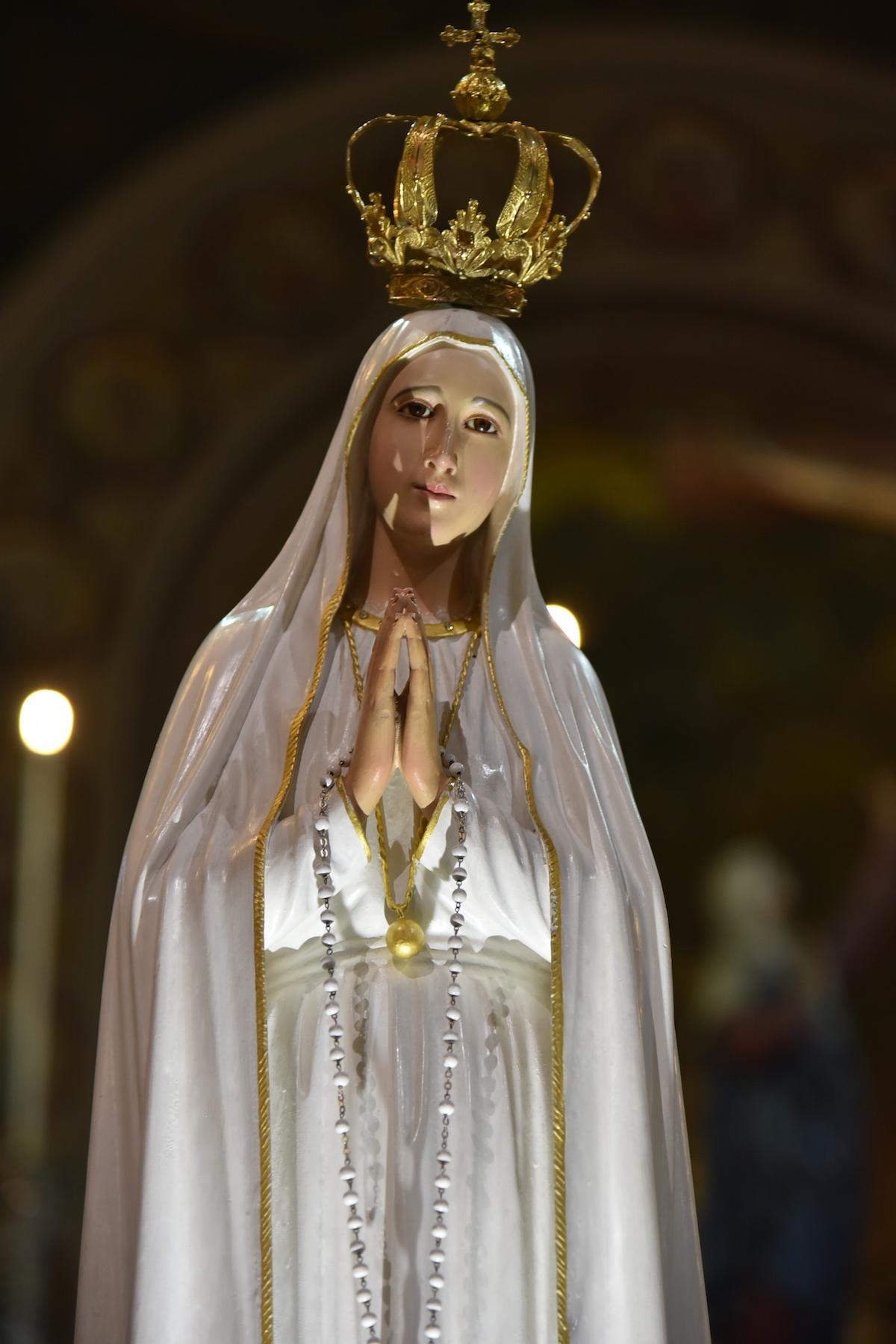 La statua della Madonna di Fatima è arrivata ad Asti