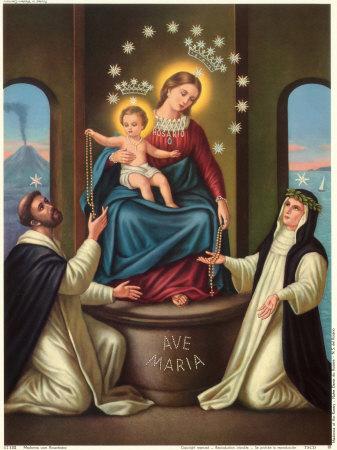 Nella chiesa N.S. di Lourdes si festeggia la Madonna di Pompei