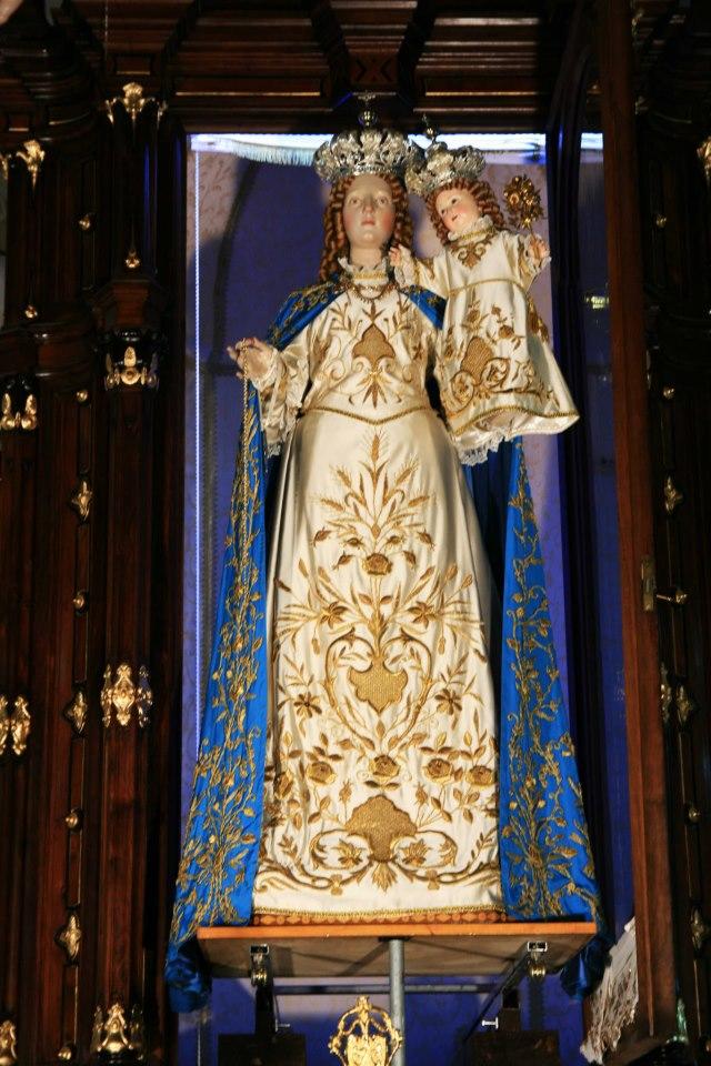 Accolta la Madonna di San Rufo