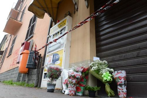 Riapre la tabaccheria di corso Alba dove a dicembre è stato ucciso Manuel Bacco