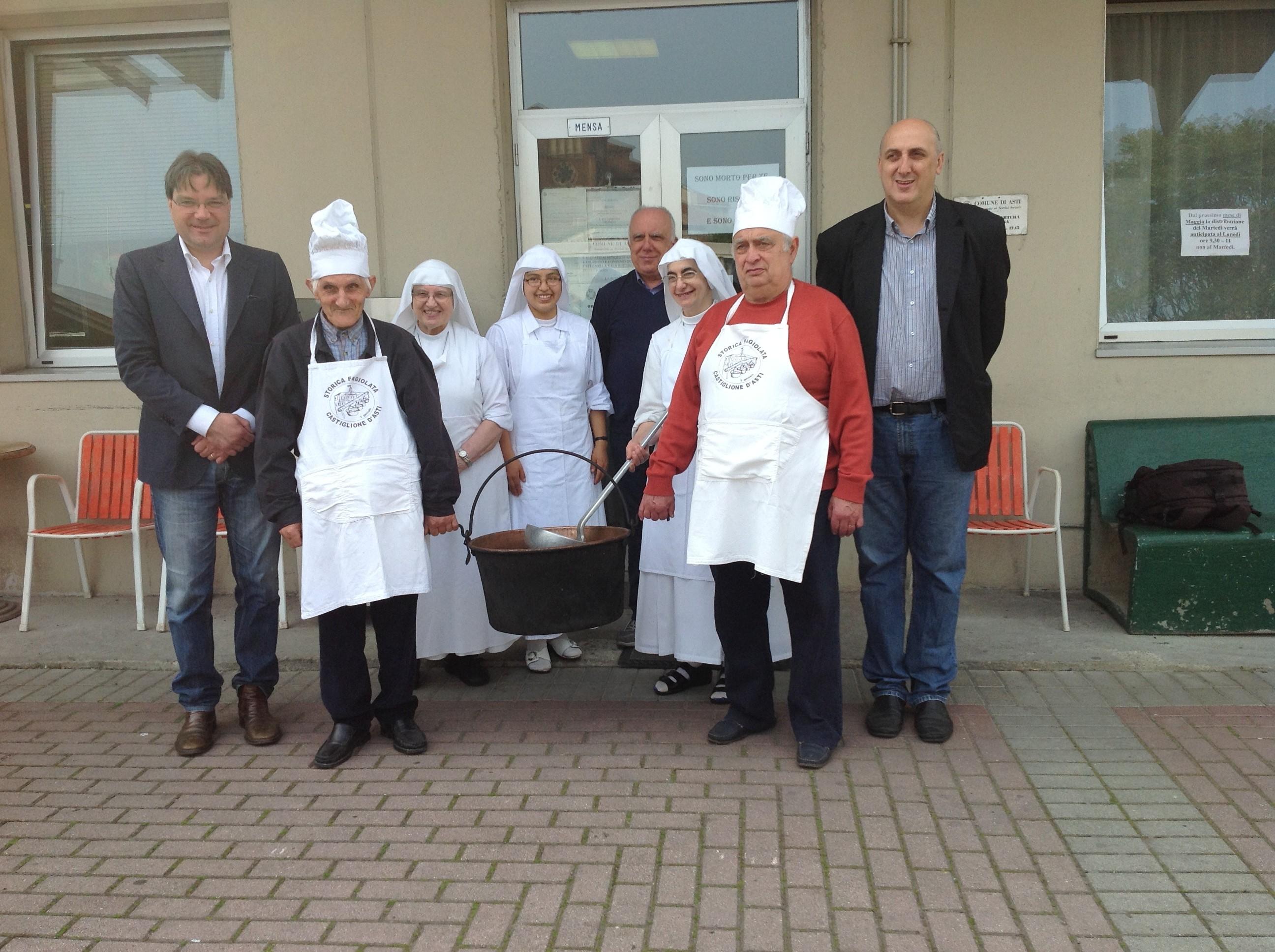 La minestra di San Secondo anche alla mensa di Corso Genova per il giorno della Carolingia