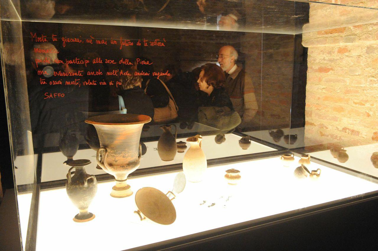 """Terza conferenza del ciclo dedicato alla mostra """"Alle origini del gusto. Il cibo a Pompei e nell'Italia antica"""""""