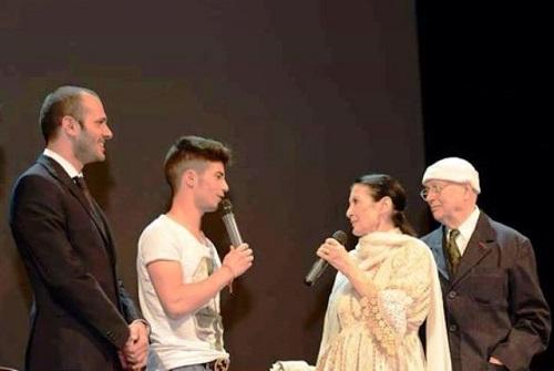 Carla Fracci e Beppe Menegatti al Moncalvo Festival