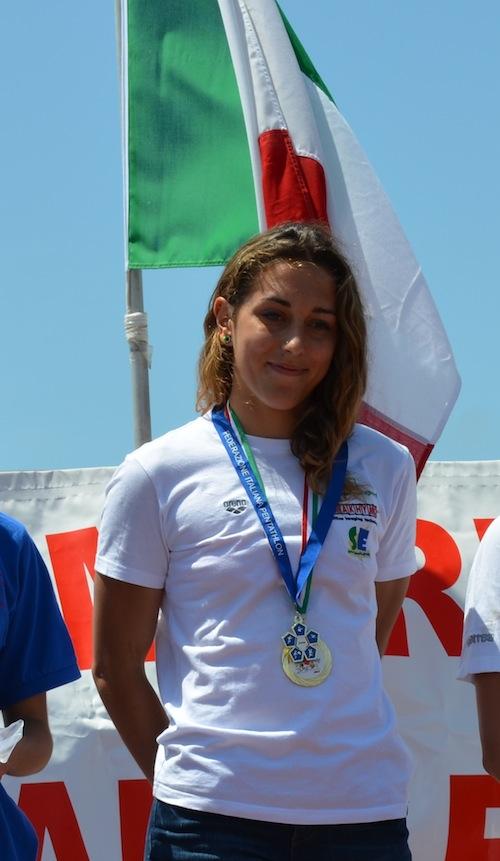 Biathle European Championships Men & Women: Nicole Campaner stravince
