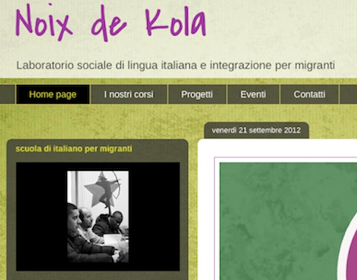 L'associazione Noix de Kola cerca volontari e propone corsi di formazione