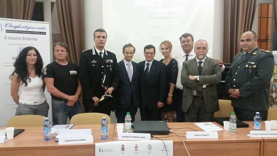 Convegno sulla sicurezza: ad Asti, con particolare riferimento ad anziani e imprenditori