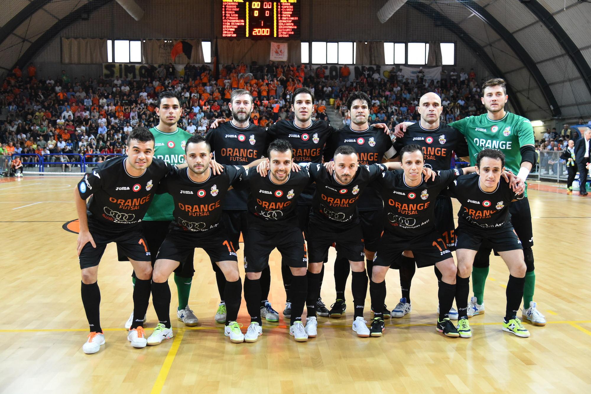 L'Orange Futsal sconfitta di misura dal Real Rieti