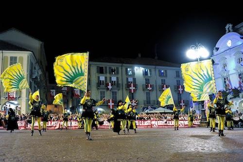 Una stagione ricca di appuntamenti per gli sbandieratori e i musici di San Lazzaro