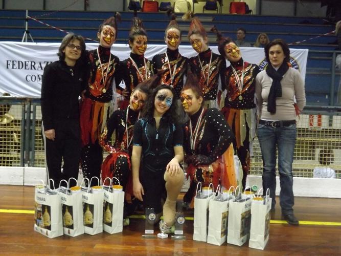 La New Asti Skating apre la stagione con il campionato regionale gruppi spettacolo