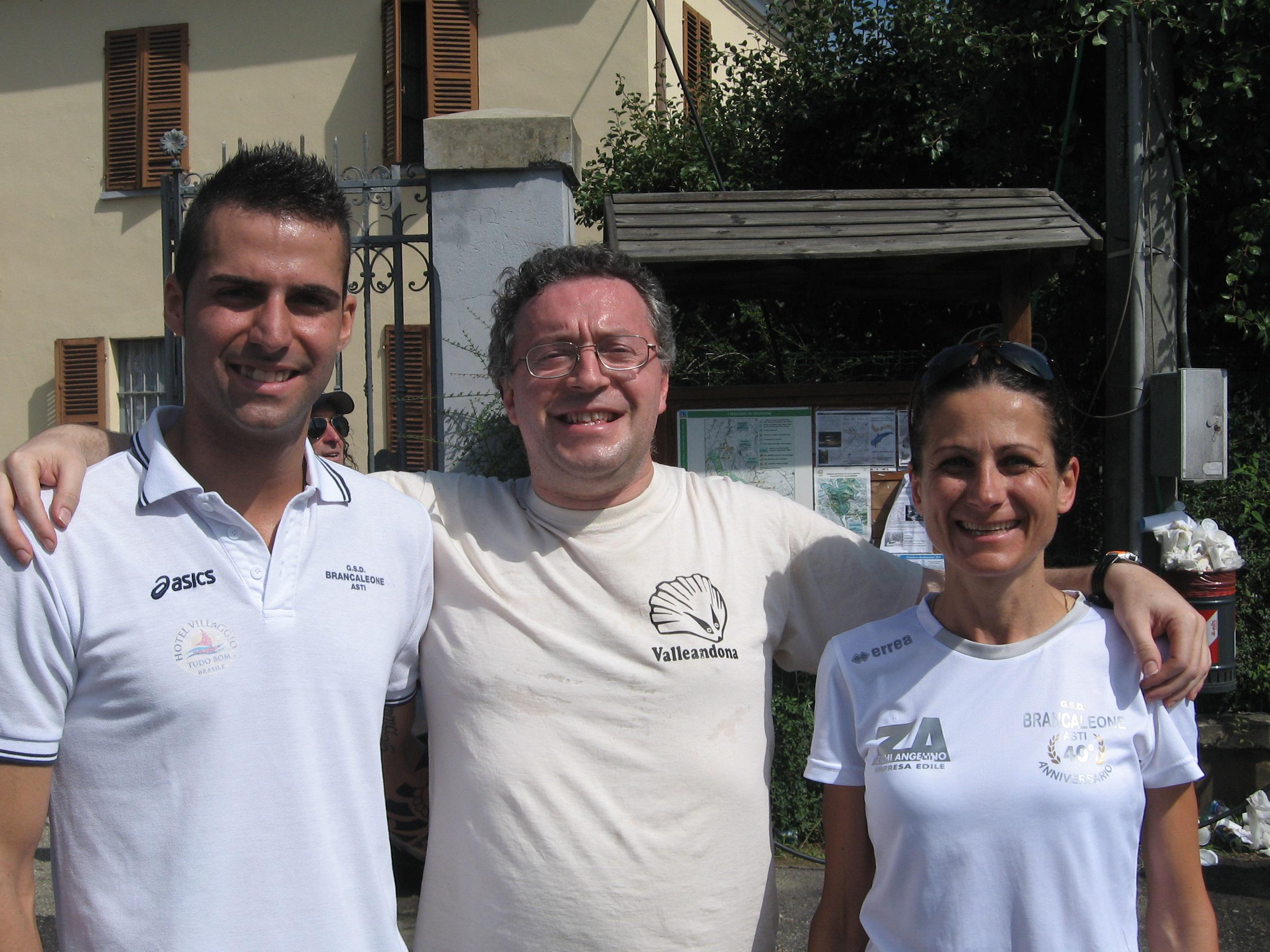 Antonio Pantaleone e Cinzia Passuello (entrambi Brancaleone) hanno vinto la 16a  della Riserva Naturale di Valleandona