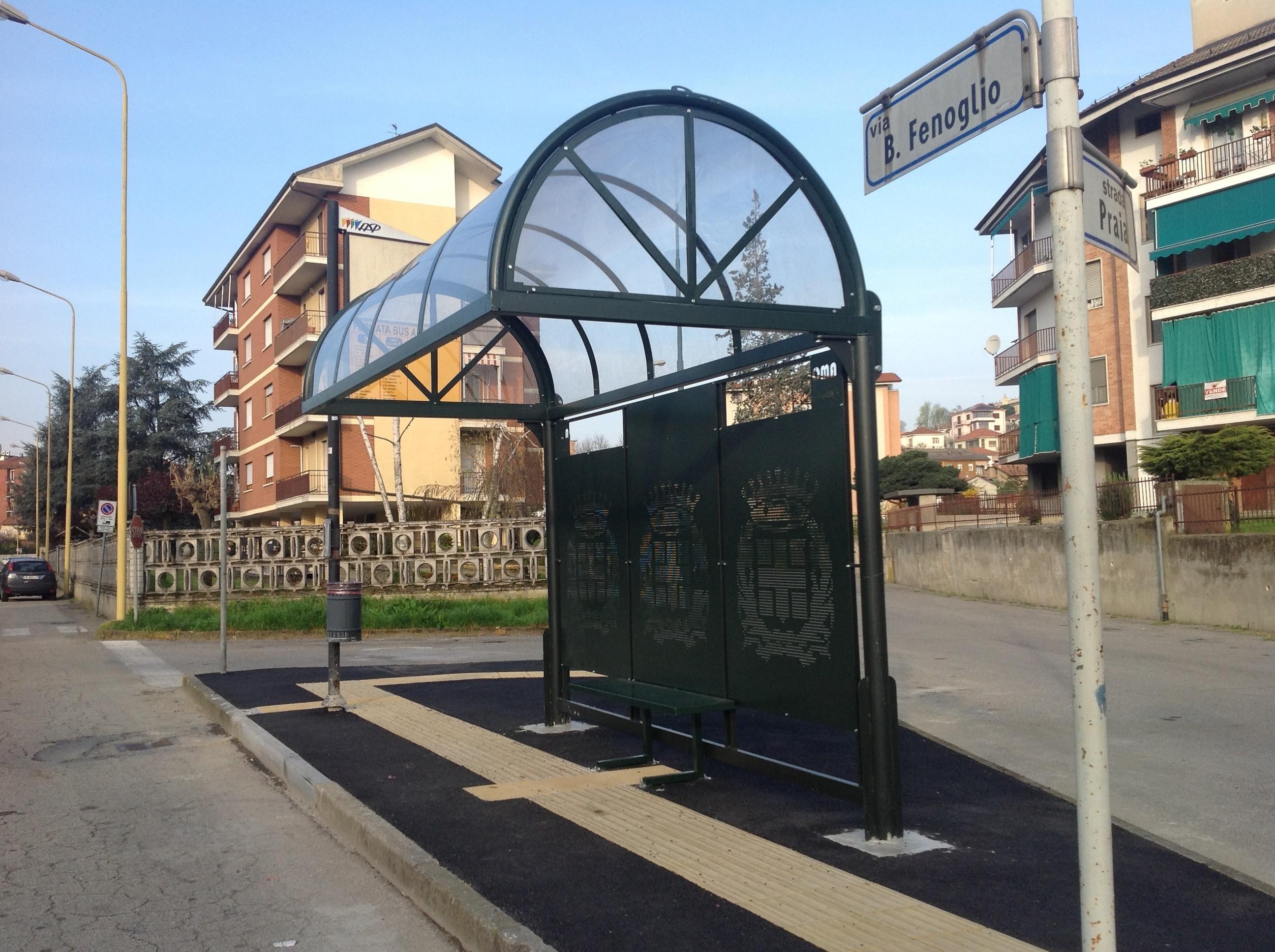 Si rifaranno il trucco le pensiline dei bus: 200mila euro della Regione ad Asti
