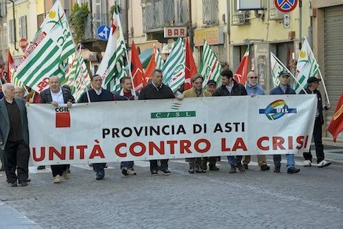 Ad Asti si festeggia un Primo Maggio unitario