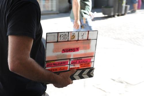 """La fotogallery delle riprese del corto """"A ogni costo l'amore"""""""