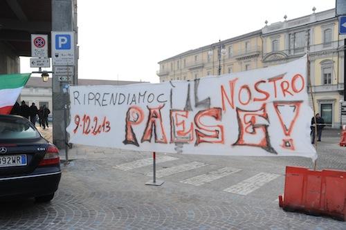 9 dicembre 2013. I Forconi astigiani scendono in piazza: la fotogallery