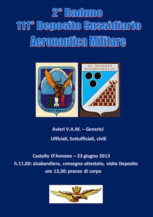 A Castello di Annone il secondo raduno dell'Aeronautica