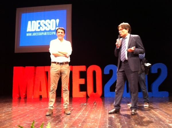 Matteo Renzi è arrivato ad Asti
