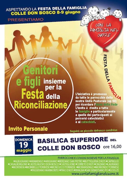Festa della famiglia al Colle Don Bosco