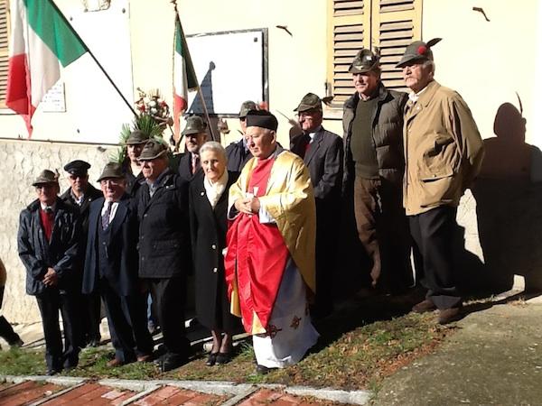 San Marzanotto, cerimonia di commemorazione dei caduti