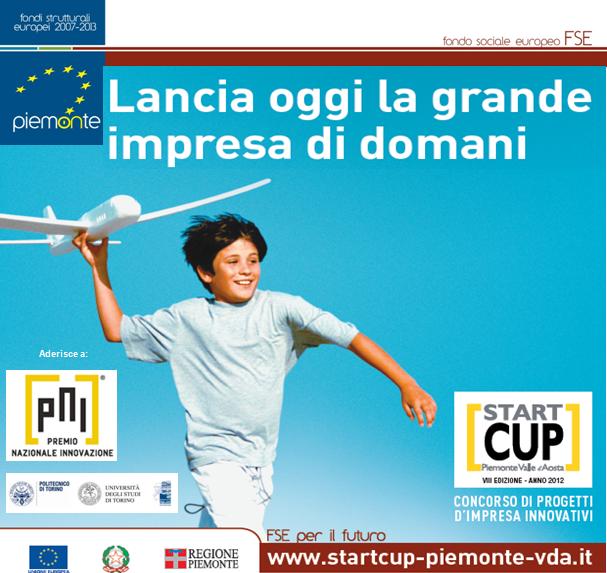 Cerimonia di premiazione per Start Cup 2012