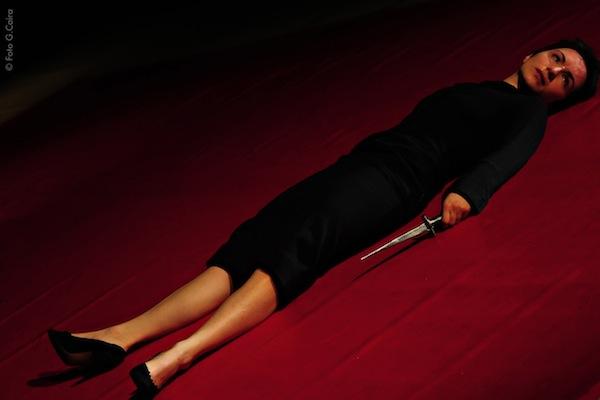 """Al Piccolo Teatro Giraudi """"Lo stupro di Lucrezia"""" per Parole d'Artista"""