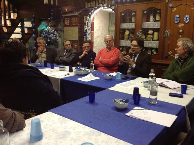 L'ultima cena del Borgo San Pietro nella storica sede di corso Genova