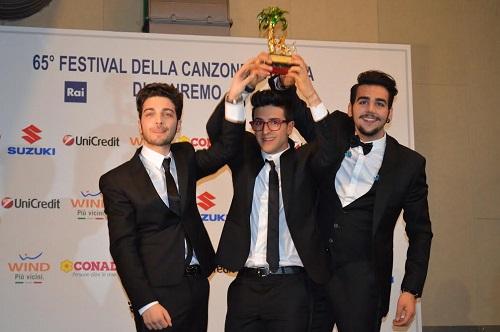 Il diario di due astigiani a Sanremo. Il Volo trionfa al Festival, la stampa divisa tra Malica Ayane e Nek