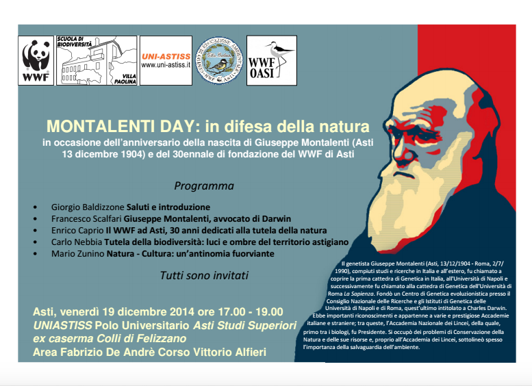 Una giornata dedicata alla figura di Giuseppe Montalenti ad Astiss