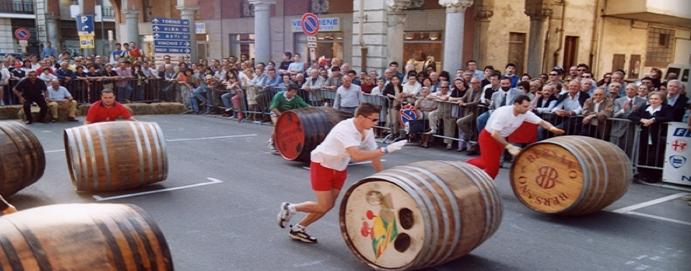 A Nizza Monferrato per la Corsa delle Botti
