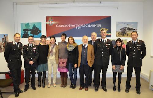 Incontro fra i magistrati della procura di Asti e i carabinieri