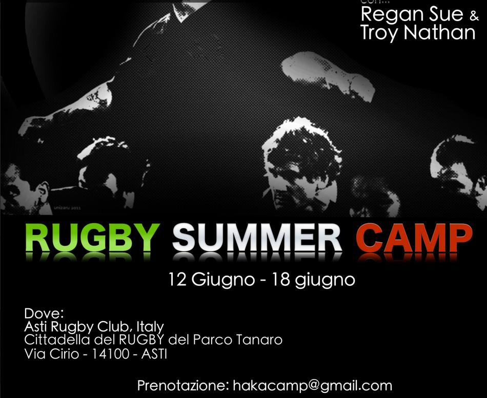Nasce ad Asti l'Haka Rugby Camp
