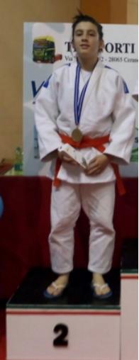 Elena Rinetti seconda al Trofeo Kodokan Cerano