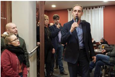 Successo per il primo incontro pubblico del candidato sindaco Cerruti