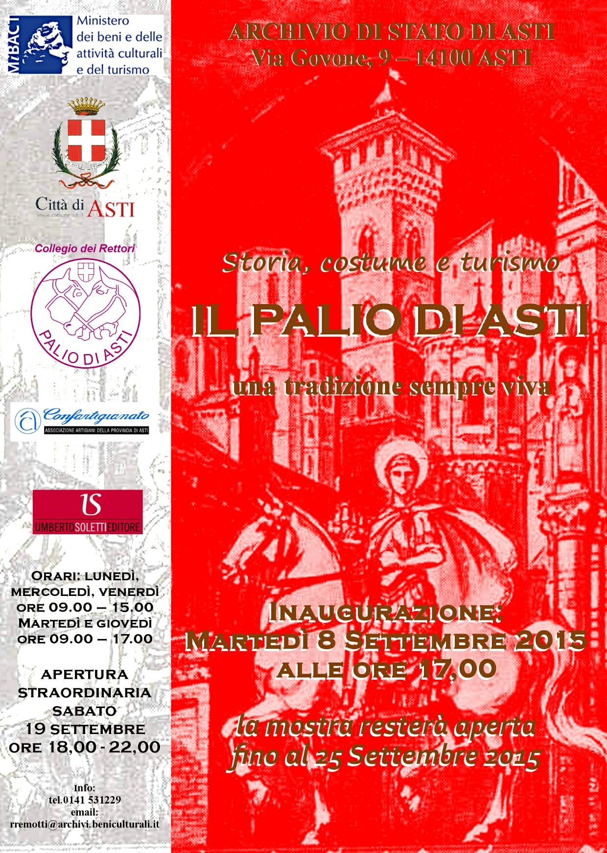 """""""Storia,  costume e turismo… Il Palio di Asti… una tradizione sempre viva"""""""