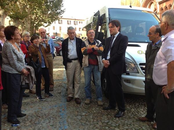 Una delegazione svizzera in visita ad Asti