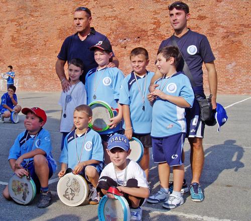 Tamburello: la Polisportiva Tigliolese vince il campionato under 8