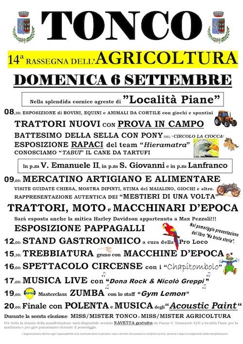 A Tonco la festa dell'agricoltura